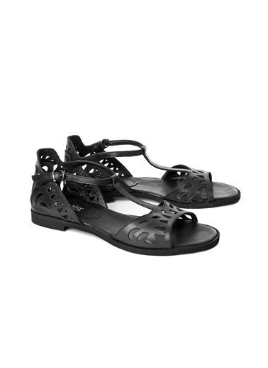 John May Sandalet Siyah